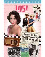 DVD Card - 1951