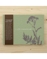 'A Life Remembered' Memorial Guest Book
