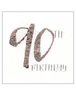 '90th Birthday' Card