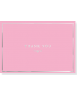Boxed Thank You Cards - Pink Elegance