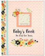 Baby Keepsake Journal - Floral