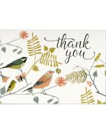 Boxed Thank You Cards - Songbirds