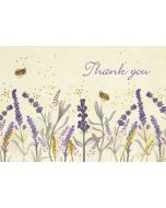 Boxed Thank You Cards - Lavender & Honey