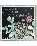 SISTER Birthday - To a Wonderful Sister