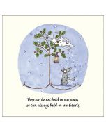 SYMPATHY Card - Hold in Our Hearts