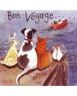 Bye Bye - Bon Voyage Card