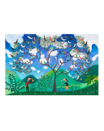 Greeting Card - The Academy of Very Ancient Music by Michael Leunig
