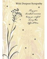 SYMPATHY Card - Cherished Memories