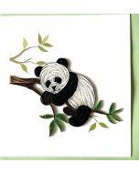 Quilling Card - Panda