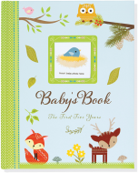 Baby Keepsake Journal - Woodland Friends