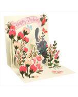 3D Pop-Up Card - Botanical Cat