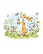 Greeting Card - Bunny in Garden
