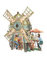 3D Card - The Windmill Tea Shop