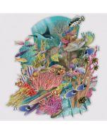3D Card - Coral Reef