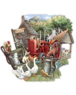 3D Card - The Farmyard