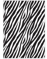 Folded Wrapping Paper - Zebra Print