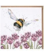 Greeting Card - Flight of the Bumblebee