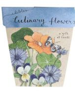 Culinary Flowers - Card & Gift of Seeds