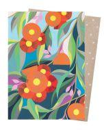 Card - Orange gum blossom