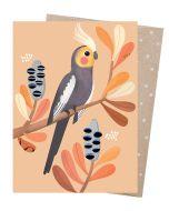 Greeting Card - Charming Cockatiel