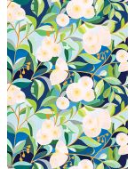 Folded Wrapping Paper - Lemon-scented Gum
