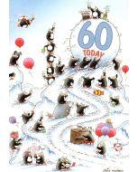 AGE 60 Card - Still on the Ball