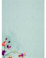Writing Set - Fuchsia Blooms