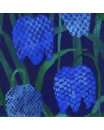 Paper Napkins - Gerda Blue by Marimekko