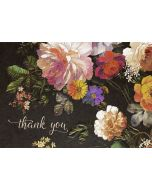Boxed Thank You Cards - Midnight Floral