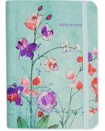 Address Book - Fuchsia Blooms
