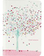 Address Book - Tree of Hearts