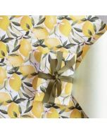 Folded Wrapping Paper - Lemons