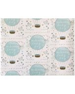 Folded Wrapping Paper - Welcome BABY BOY