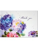 Boxed Thank You Cards - Hydrangeas