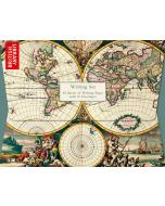 Writing Set - 'Four Hemisphere World Map'