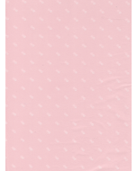 White Dots on Pink Tissue Paper - 3 Sheets