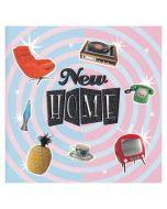 NEW HOME Card - Retro Vibe