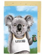 BIG card - Legend KOALA