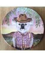 Koala girl - Single plate