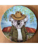 Koala boy - Single plate