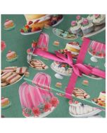 Folded Wrapping Paper - Lavish Tea Party