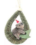 Christmas Hanger - Koala