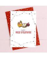 Jewish New Year Card - Fruit & Honey