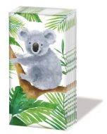 Pocket Tissues 'SNIFFS' - KOALA