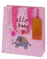 Gift Bag (medium) - Hello Baby GIRL