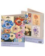 Notecard Wallet - Flower Studies by Mackintosh