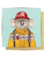 Koala firefighter