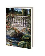 Notecard Wallet - Stained Glass by Louis Comfort Tiffany