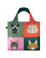Foldable & Water Resistant BAG - Cats by Stephen Cheetham