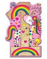 AGE 1 Card - Unicorn